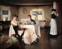 the breakfast, William McGregor Paxton