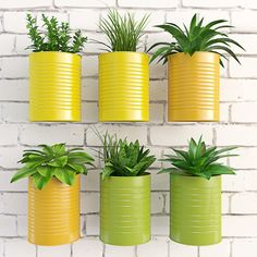 Diy Discover 23 Clever DIY Christmas Decoration Ideas By Crafty Panda Tin Can Crafts Jar Crafts Diy Crafts For Kids Tin Flowers Flower Pots Hanging Plants Indoor Plants Home Garden Plants Home And Garden