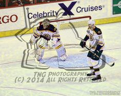 Goalie Tuukka Rask  Captain Zdeno Chara NHL Boston Bruins Unsigned 8x10 Photo Hockey Art Print 1310 |