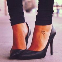 Small Ankle Tattoos For Girls | Life Stylei Placement for cross?