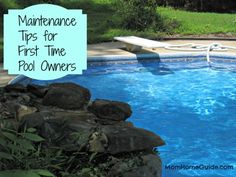 Tips for maintaining a pool and keeping it clean