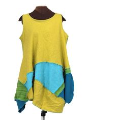 Parrot Tender Tunic - Secret Lentil Clothing