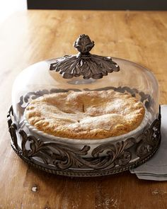 Covered Pie Plate - Neiman Marcus