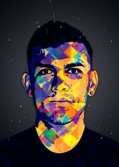 Metal Poster Leandro Paredes 8