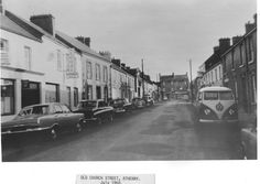 Old Church Street, Athenry, Co. of Ireland. Old Photographs, Me On A Map, Ireland, Street View, Mom, History, Historia, Old Photos, Irish