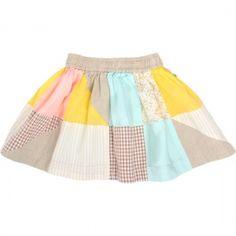 Summer patch skirt