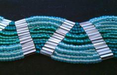 Free Ladder Stitch Bracelet Tutorial featured in Bead-Patterns.com Newsletter!
