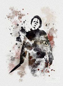Horror Mixed Media - The Boogeyman by Rebecca Jenkins