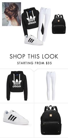 """weekend with friends"" by fashonista-646 on Polyvore featuring Barbour and adidas"