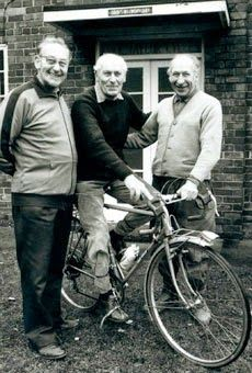 """taylor brothers Ken, Jack and Norman, The bicycling world should note the recent passing of a great man, a treasure, and a legend, Jack Taylor, who died on Nov. 2nd. Jack was one of the three """"bicycle brothers"""" behind Jack Taylor Cycles of Stockton-on-Tees, England"""