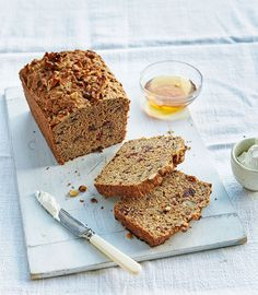 Whether you're having a slice for breakfast or as a tea-break snack. Jo Pratt's gluten-free recipe will give you a slow-releasing energy boost to get you through your day.