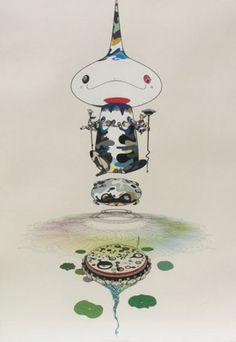Reversed Double Helix 2005 by Takashi Murakami