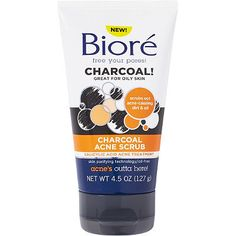 Browse unbiased reviews and compare prices for Bioré Charcoal Acne Scrub. I got this face wash after someone else recommended it. My son age 11 has been getting little acne breakouts on the top of his forehead at his hairline. The reviewer highly recommend it as she got it for son as well and worked great. Even as soon as the next day. My son not so much, although he liked the way his face felt after washing the acne seems to have gotten worse.  Biore® Charcoal Acne Clearing Cleanser