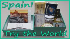 Try the World Unboxing - Spain!