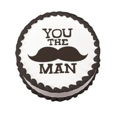 You the Man edible cake design from DecoPac