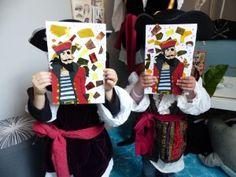 Atelier des touts-petits, pirates, à Citémômes, Rouen