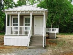 Perfect 2BR/1BA Katrina Cottage For Sale In Pangburn, Arkansas Nice Look