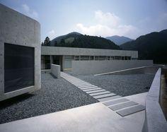 Horizontal Houseu0027s Entrance In Japan.