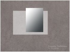 Wall miroor, a set of 'Laguna bathroom'  Found in TSR Category 'Sims 4 Mirrors'