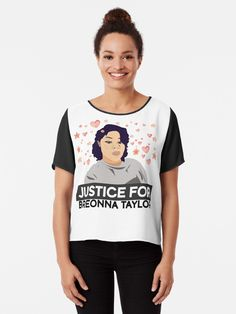 15 Justice For Breonna Taylor Ideas Breonna Taylor Justice Chiffon Tops