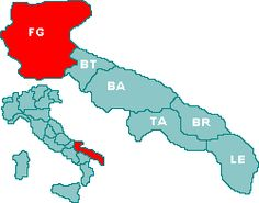 My family is from Foggia Italy , it's a beautiful area , lots of family and freinds there .