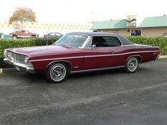 1968 Ford Galaxie 500 Two Door Hardtop owned one of these in Forest Green, loved that car. may try to find one again.