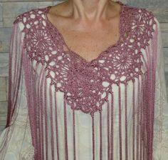 Mantocillo flamenca / crochet