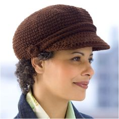 Top 10 Fashionable DIY Hats And Caps (Free Crocheting Patterns) - Top Inspired