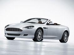 Aston Martin DB9- hmmm...if I ever win lotto