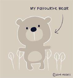 pop-i-cok: my favourite bear