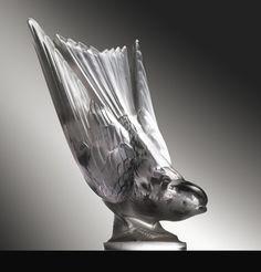 ❤ - René Lalique | Lalique Car Mascot. Hirondelle - 1932.