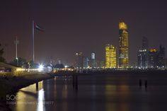 Abu Dhabi Night Cityscape daleholmanmaine.com