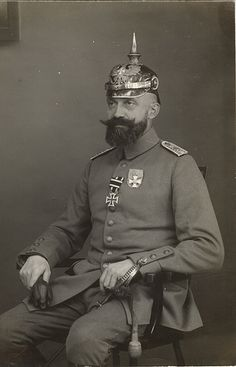 Prussian officer with Landwehr Wappen
