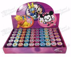 Disney Tsum Tsum Self-inking Stamps Birthday Party Favors 60 Pieces (Complete Box): Disney Tsum Tsum Self-Inking Stamps Includes: 10 Assorted Disney Tsum Tsum Self-Inking Stamps, 60 pc Total Each stamp is pre-inked Perfect for your party Princess Birthday Party Decorations, Birthday Party Favors, Diy Birthday, Birthday Gifts, Tsum Tsum Party, Disney Tsum Tsum, Toy Model Cars, Baby Doll Accessories, Halloween Disfraces