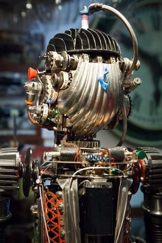Robot big boy by ferrerini mechanical art