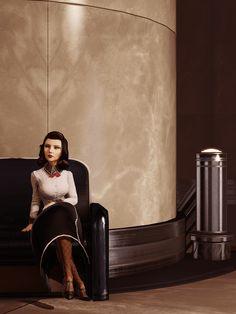 Elizabeth in Rapture Bioshock Infinite Burial at Sea