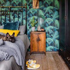 COLE & SON PALM JUNGLE - DARK GREEN - Natty & Polly - Wallpaper Australia