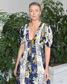 Maria attended the CFDA/Vogue Fashion Fund Show and Tea at Chateau Marmont in Los Angeles, California