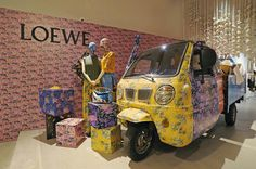 "LOEWE, (Joyce Fashion House), Hong Kong, China, ""Loewe x Paula's Ibiza Capsule Collection"", pinned by Ton van der Veer"