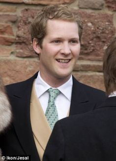 George Dominic Percy, Earl Percy, (age 28) single and is the heir apparent to the Dukedom of Northumberland