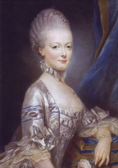 """Archduchess Maria Antonia Of Austria, Queen Marie Antoinette Of France by Joseph Ducreux Rococó Joseph Ducreux, Louis Xvi, Marie Antoinette, Ludwig Xiv, French Royalty, English Royalty, Maria Teresa, Francis I, Miniature Portraits"