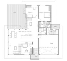 Small House Plan CH49