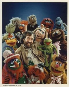 Jim Henson an his Muppets
