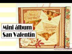Mini álbum rápido de bolsillo - San Valentín