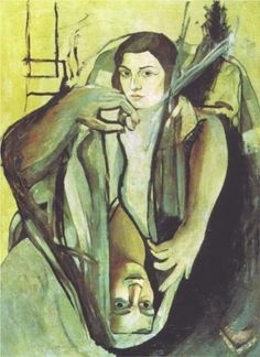 Salvador Dali (1904 - 1989) | Expressionism | Portrait of My First Cousin - 1923