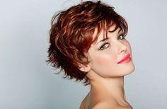 cortes de cabello corto para cabello ondulado - Buscar con Google