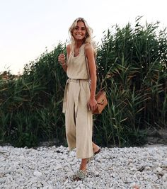 Cute neutral jumpsuit