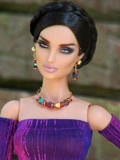 Barbie Model, Barbie I, Barbie World, Beautiful Barbie Dolls, Pretty Dolls, Fashion Royalty Dolls, Fashion Dolls, Diva Dolls, Glam Doll