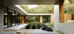 L shaped residence