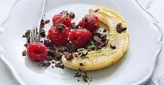 Bananas salteadas com chocolate e framboesas (104)